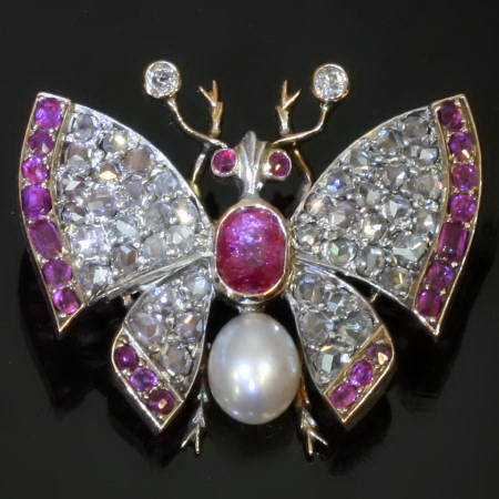 Sparkling Victorian butterfly