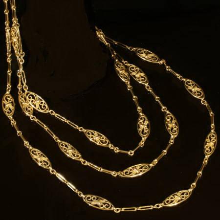 long Victorian chain