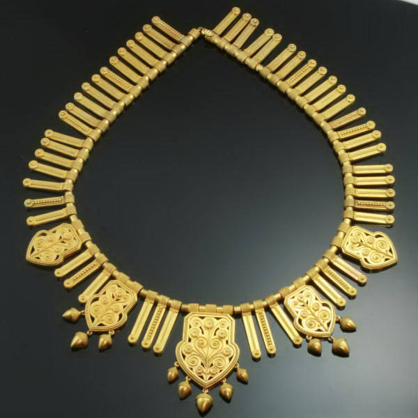 Antique necklaces above $10000
