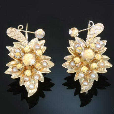 Antique earrings under $500