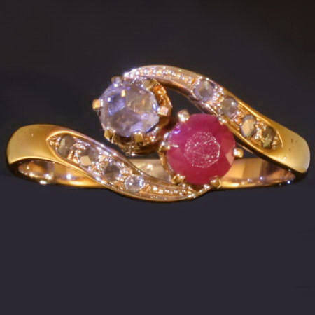 Antique rings under $500