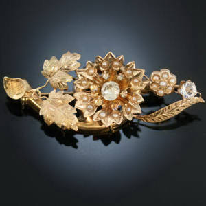 Antique brooches under $500
