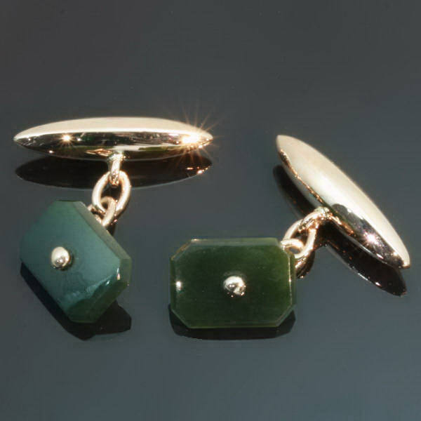 Antique jewelry with color green up to $1,500