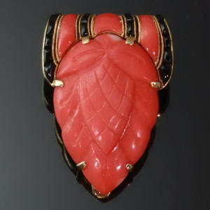 Antique jewelry with color red up to $10,000