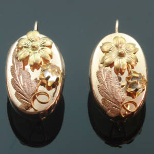 Antique Victorian earrings under $500