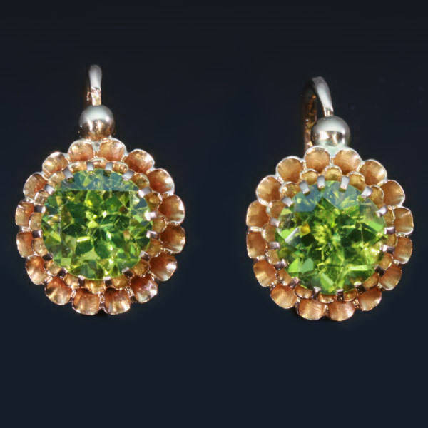 Antique earrings between $700 and $2000