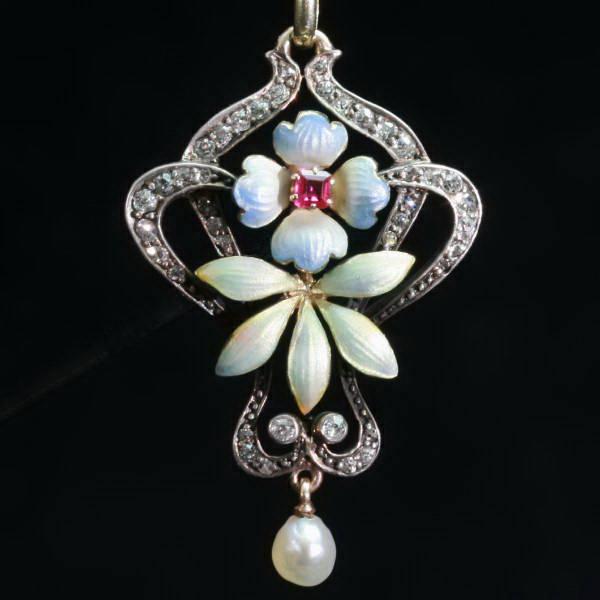 Antique pendants between $2000 and $7000