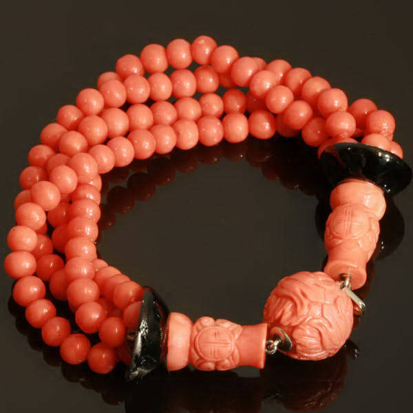 Antique jewelry with the color red up to $15,000