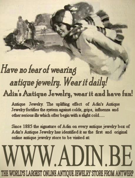 Have no fear of wearing antique jewelry