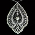 Edwardian natural pearls Princess necklace from the antique jewelry collection of www.adin.be
