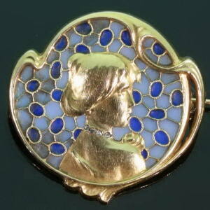 antique and estate brooches with blue.jpg