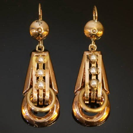 Antique earrings under $1000