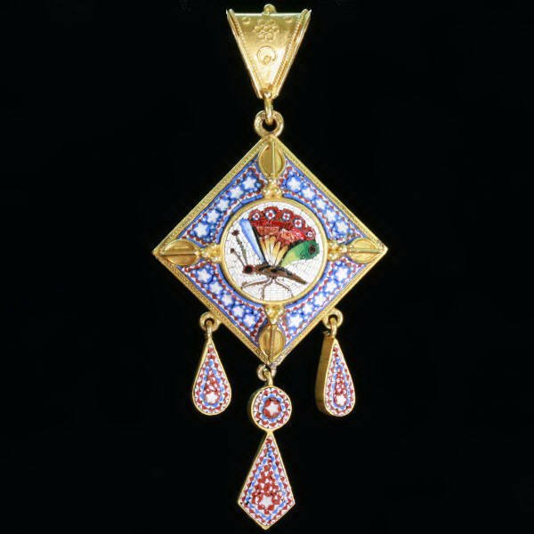 Antique pendants between $2500 and $7000