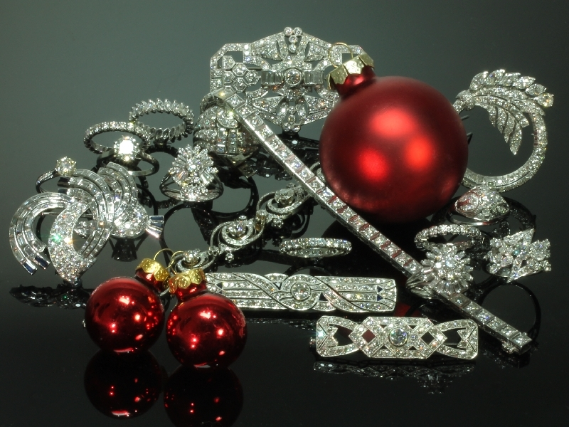 still chance on a white christmas this year from the antique jewelry collection of adin at www.adin.be